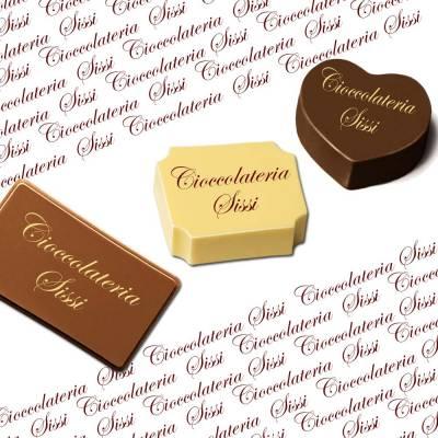 Trasferelli per cioccolato (transfer) personalizzati