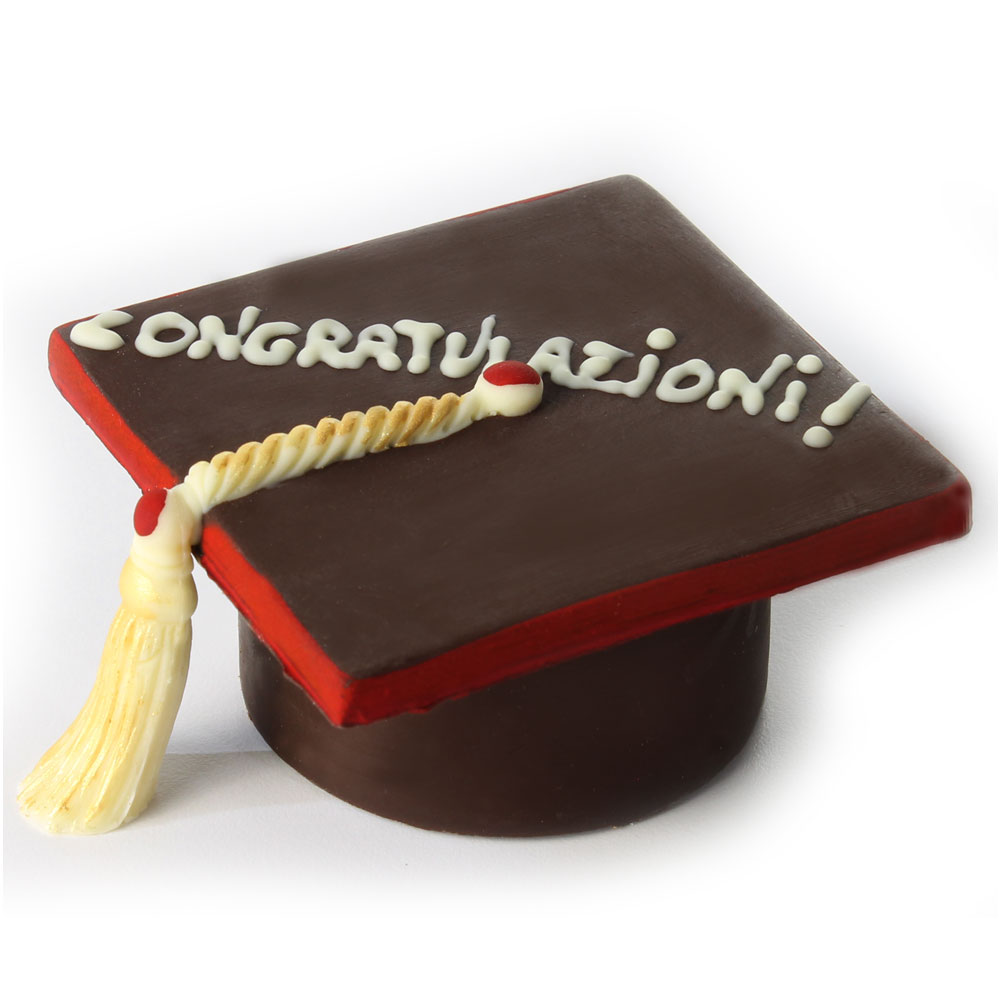 tocco di laurea in cioccolato decorato e personalizzabile per bomboniera f3b4e00e8160
