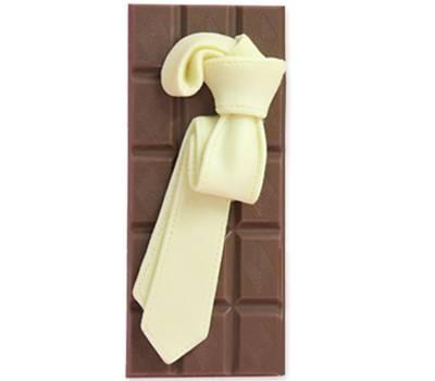 """Compleanno e Ricorrenze - """"Cravatta"""" di cioccolato"""