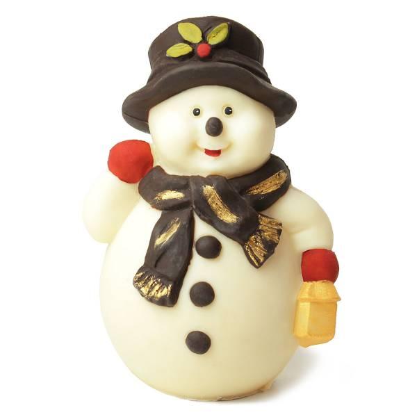 Pupazzo di neve di cioccolato - Natale di Cioccolato