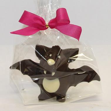 Confezione di Pipistrello di cioccolato con sigillo a fiocco