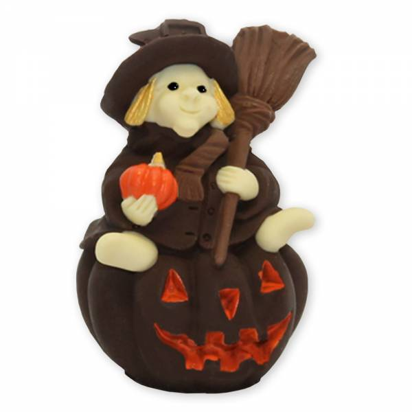 """""""Strega su zucca di Halloween"""" di cioccolato - Halloween"""