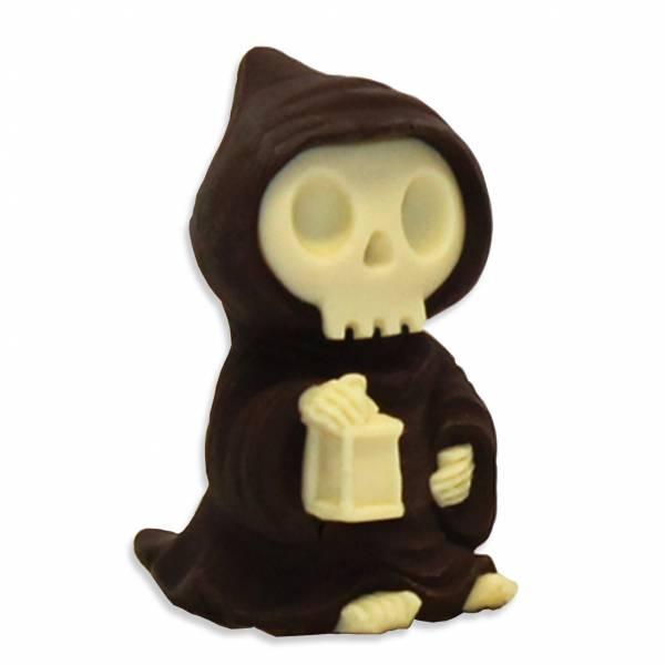 """""""Scheletro con cappuccio"""" di cioccolato - Halloween"""