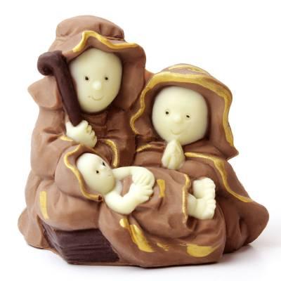 """Cioccolato Natale - """"Sacra Famiglia"""" di cioccolato"""