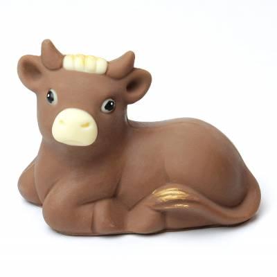 """Cioccolato Natale - """"Bue"""" di cioccolato"""
