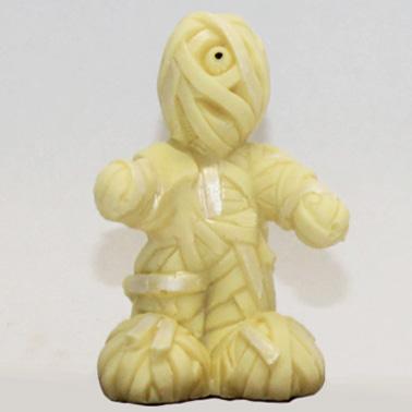 Mummia di cioccolato bianco