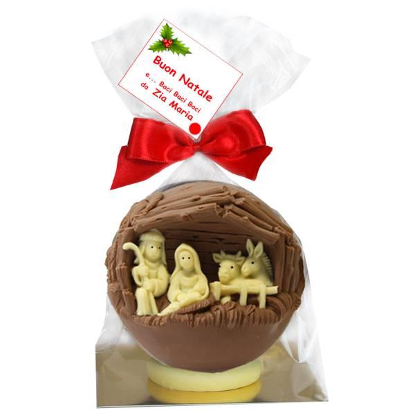 Presepe di cioccolato - Cioccolato di Natale