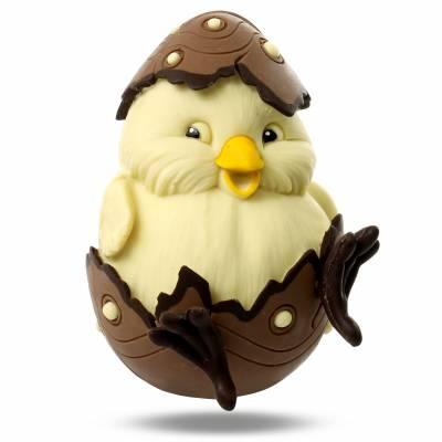 """Uova di Pasqua - Uovo di Pasqua di cioccolato """"Pulcino"""""""