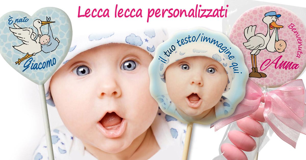 Festeggia la nascita del tuo bimbo/a con i lecca lecca personalizzati Plusia