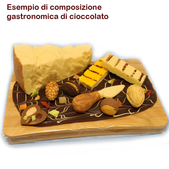"""""""Formaggio stagionato"""" di cioccolato - Gastronomia di cioccolato"""