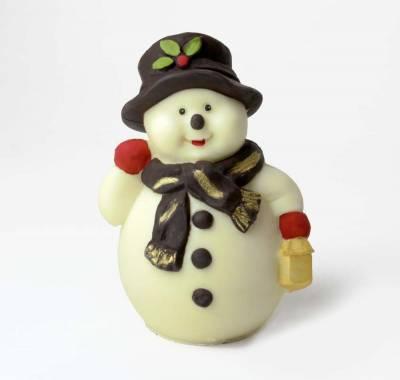 """Natale ed Epifania - """"Pupazzo di neve """" di cioccolato"""