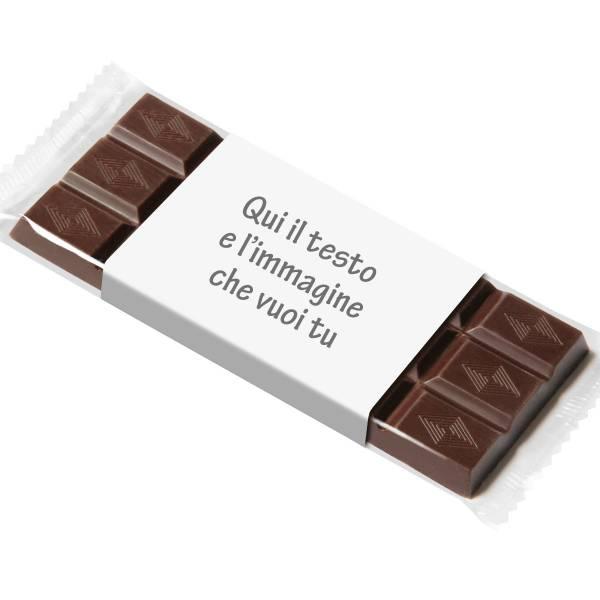 Tavoletta di cioccolato personalizzata sull'incarto - Tavolette di cioccolato personalizzate
