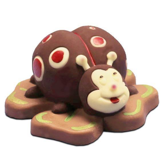 Coccinella di cioccolato - Laurea - Compleanno e Ricorrenze - Uova di Pasqua