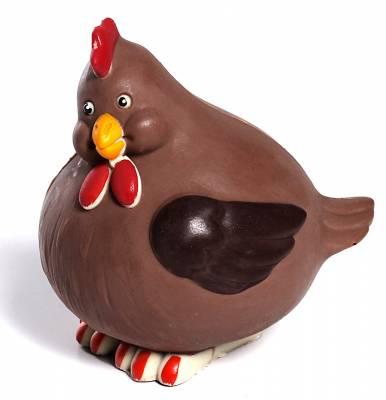 Uova di Pasqua - Gallinotta di cioccolato