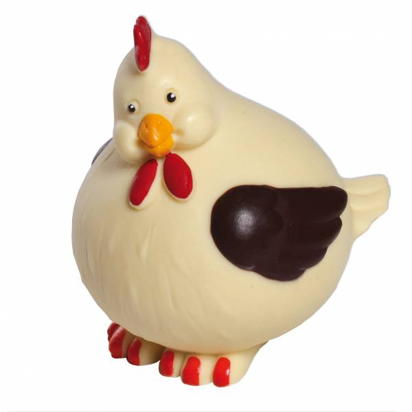 Uova di Pasqua - Animali e giochi di cioccolato - Gallinotta di cioccolato