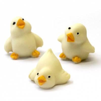 Animali e giochi di cioccolato - Uova di Pasqua - Tris di pulcini di cioccolato