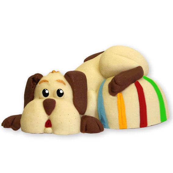 Cane con palla di cioccolato - Compleanno e Ricorrenze