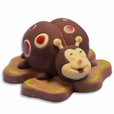 Laurea - Uova di Pasqua - Animali e giochi di cioccolato - Coccinella di cioccolato