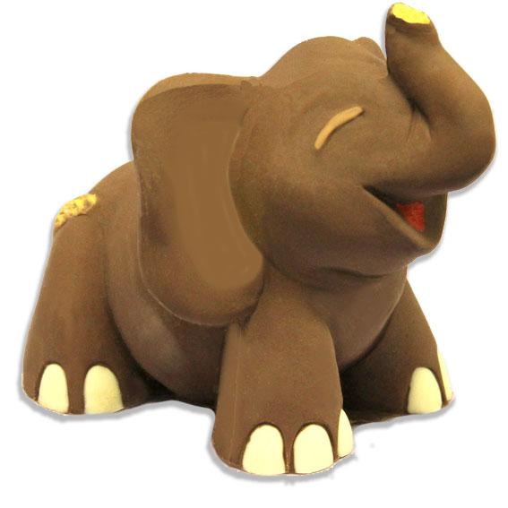 Elefante di cioccolato - Compleanno e Ricorrenze