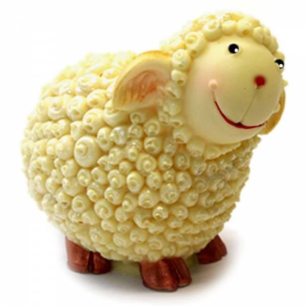 Uovo di Pasqua pecorella di cioccolato
