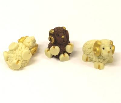 Arieti di cioccolato