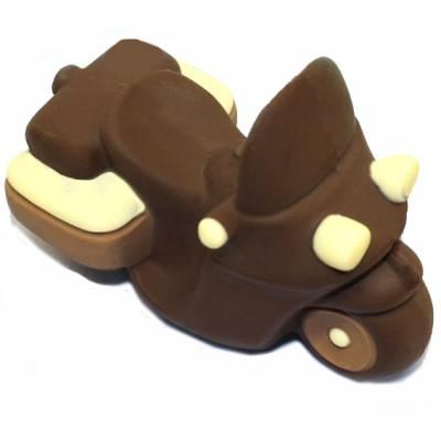 moto di cioccolato fondente