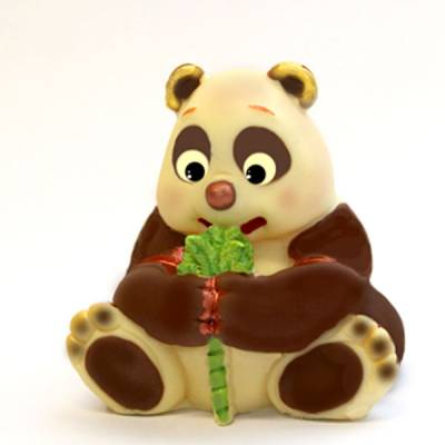 orso panda di cioccolato