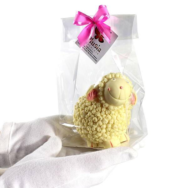 Uova di Pasqua - Animali e giochi di cioccolato - Agnello di cioccolato