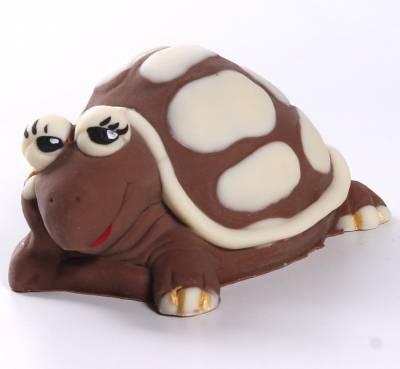 Animali e giochi di cioccolato - Tartaruga di cioccolato