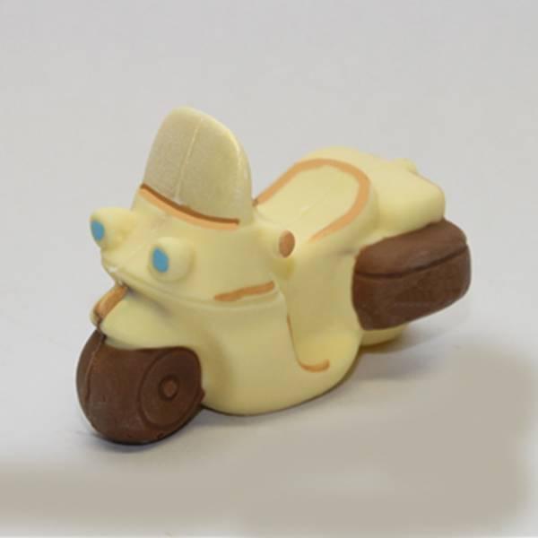 moto di cioccolato bianco
