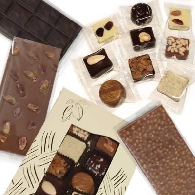 Cioccolatini, Praline, Tavolette