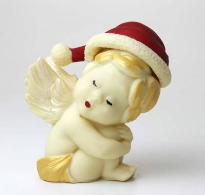 Natale ed Epifania - Putto con berretto natalizio