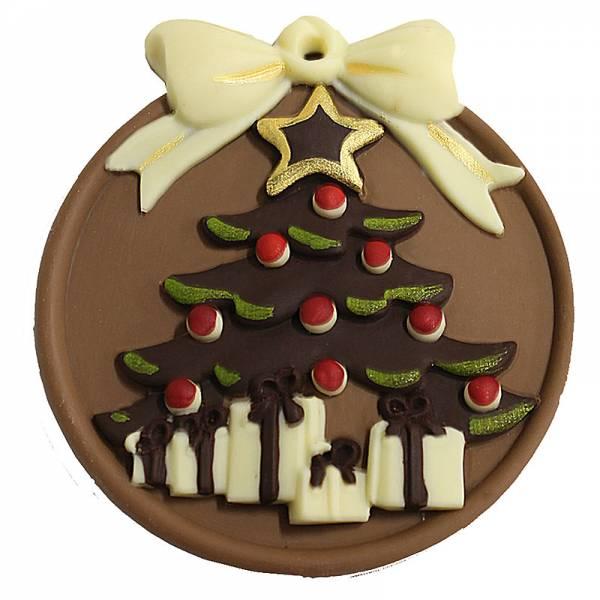 Medaglioni di Natale di cioccolato - Vari soggetti - Natale di Cioccolato