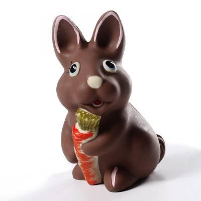 Uova di Pasqua - Coniglietto di cioccolato con carota