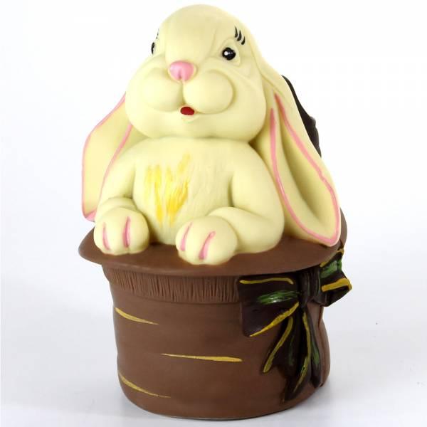 """Uova di Pasqua - Uovo di Pasqua """"Coniglio nel cappello"""""""
