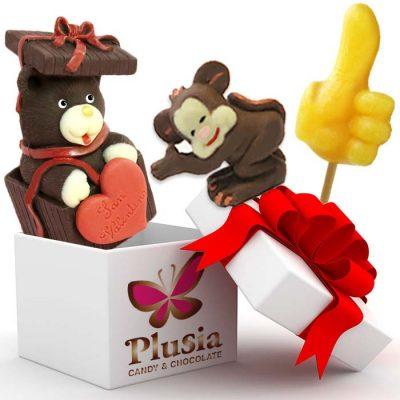 Idee regalo artistiche in cioccolato e zucchero