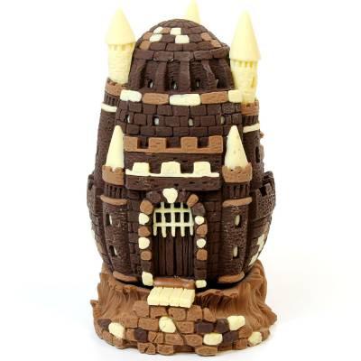 """Uova di Pasqua - Uovo di Pasqua """"Castello medioevale"""""""