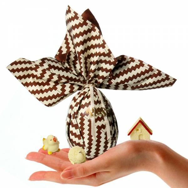 """Uova di Pasqua - Uovo di Pasqua con sorprese di cioccolato """"Coccodè"""""""