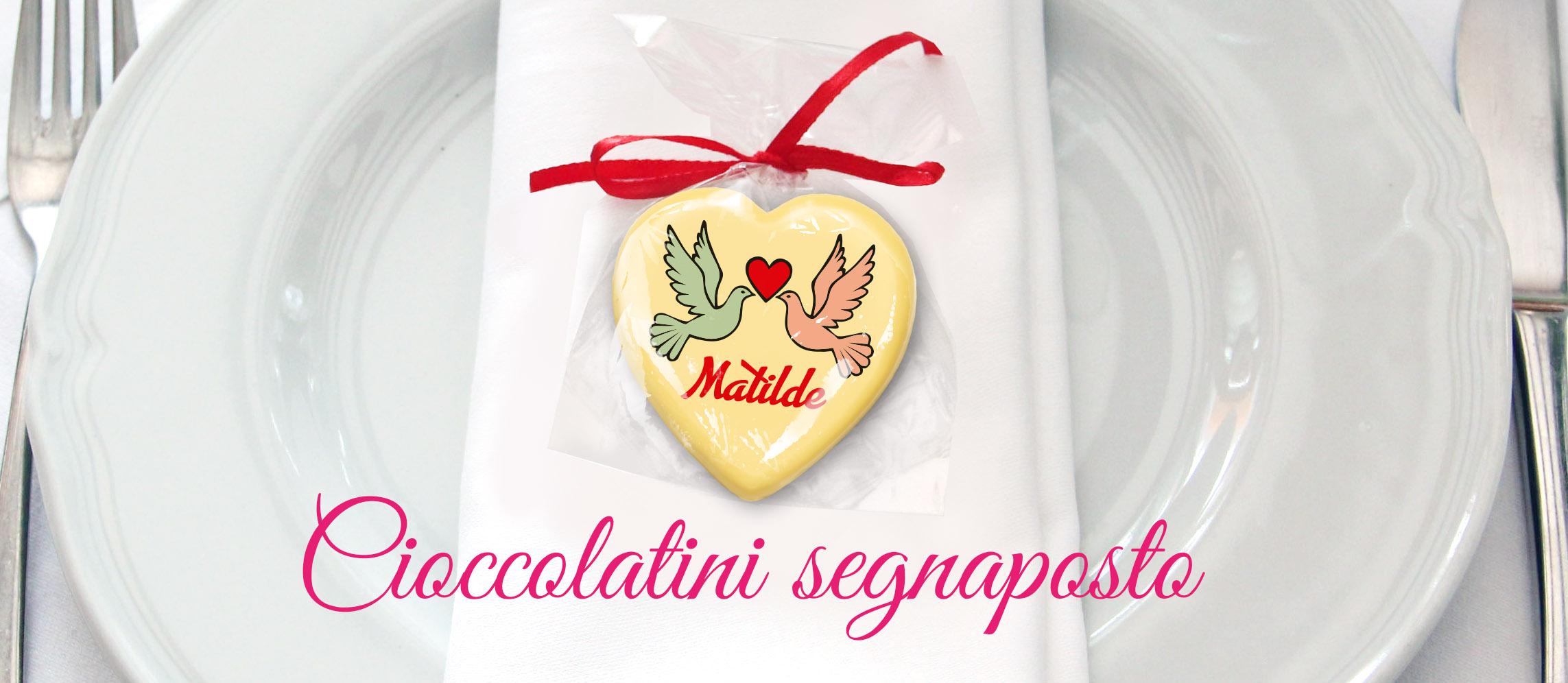 Cioccolatini segnaposto
