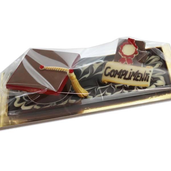 """""""Cappello di Laurea"""" di cioccolato - Laurea"""