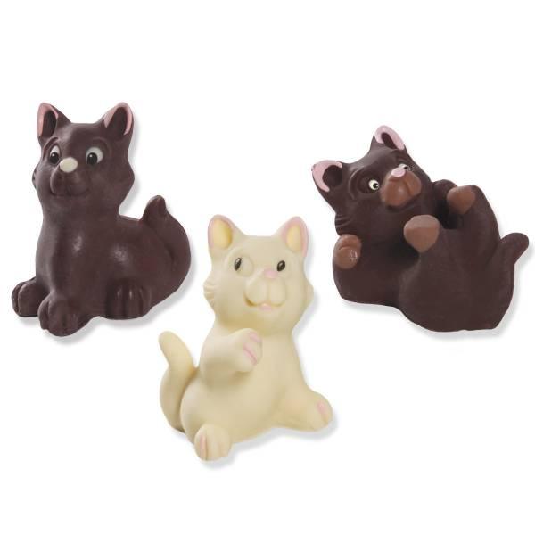 gattini ai tre cioccolati