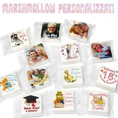 Marshmallow personalizzati