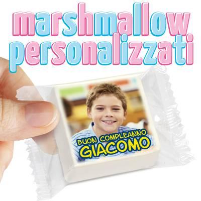 Compleanno - Festeggia il compleanno con i Marshmallow personalizzati