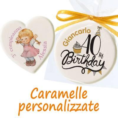 Compleanno - Caramelle personalizzate