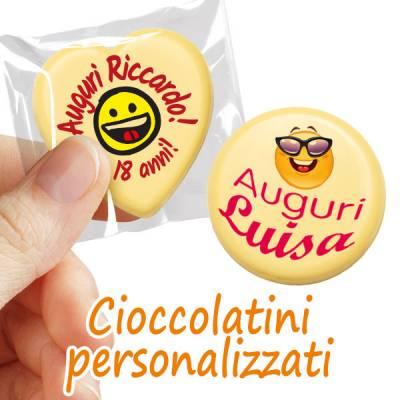 Compleanno - Cioccolatini personalizzati per il compleanno