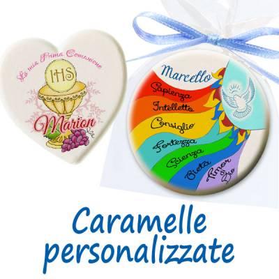 Comunione e Cresima - Caramelle personalizzate per comunione e cresima