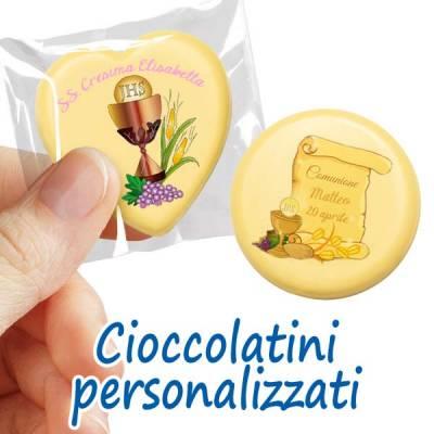 Comunione e Cresima - Scopri i cioccolatini personalizzati