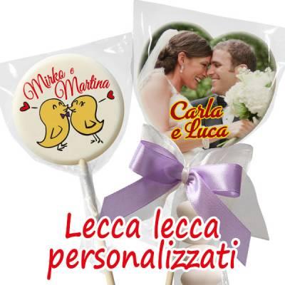 Matrimonio - Lecca lecca personalizzati per le tue nozze