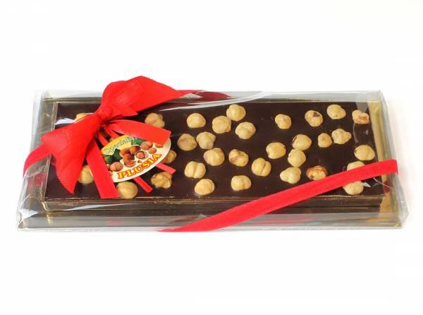 Stecca di cioccolato con nocciole intere - Cioccolatini e Tavolette