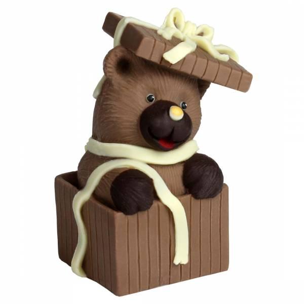 Orsetto regalorso di cioccolato - Cioccolato di Natale